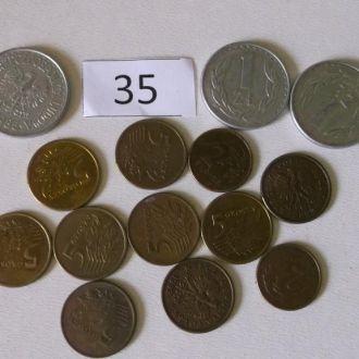 Монеты Польши 14 шт.
