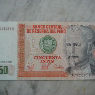 Банкнота 50 Gthe