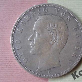 Монета 5 марок 1903 года
