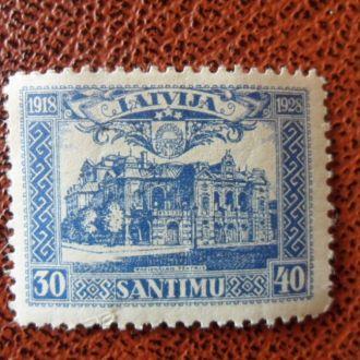 Прибалтика Латвия зубц. Мих.5 Евро