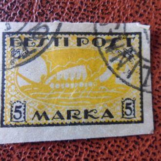 Прибалтика Эстония 5 марок