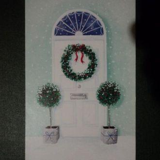 Веселого Рождества-Merry Christmas! Двойная.