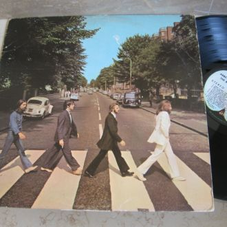 The Beatles : Abbey Road (USA SO-383 ) LP