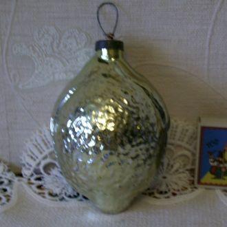 """Елочная игрушка """" Лимон """", СССР"""