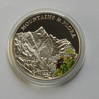 Палау, 5 долларов, 2012, Гора, 2500 шт, серебро