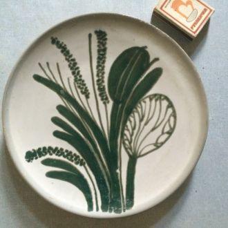 тарелка (рисунок трава) СССР