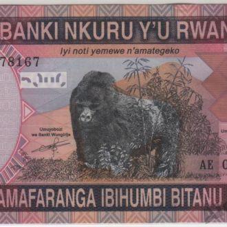 Руанда 5000 франков 01.12.2014 в UNC
