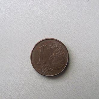германия 1 евро цент 2008 J