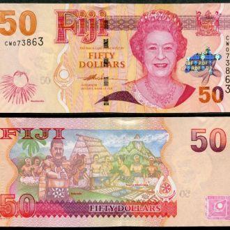 Fiji / Фиджи - 50 Dollars 2012 - UNC - OLM-OPeN