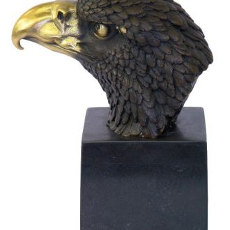 статуэтка Сокол Орел бронза мрамор скульптура бюст