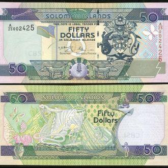 Solomon Isl/ Соломоновы о-ва - 50 Dollars 2001 UNC