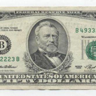 США 50 ДОЛЛАРОВ.1993г