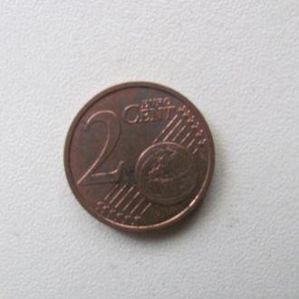 германия 2 евро цента 2002 J