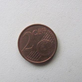 германия 2 евро цента 2002 F