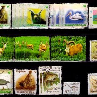 Фауна.Ср.Азия.Рыбы,животные и птицы.Описание