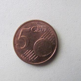 германия 5 евро центов 2011 А