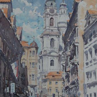 """Картина Прага"""" Микитенко В."""