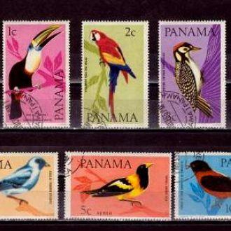 Фауна.Панама Птицы  6м Г1