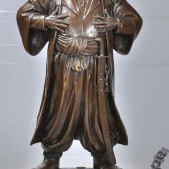 статуэтка козак бронза русский мотив скульптура. Доставка бесплатно !