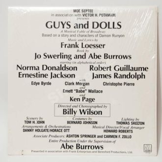 Guys and Dolls, USA
