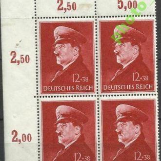 Германия 1941 А. Гитлер 4х1м.**