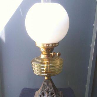 Лампа керосиновая, Англия