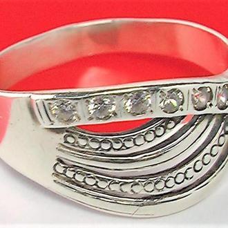Кольцо перстень серебро 925 проба 2,71 гр. 19,5 размер