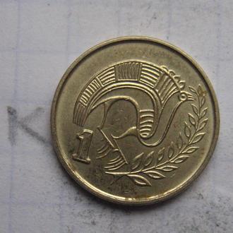 КИПР 1 цент 2003 года.