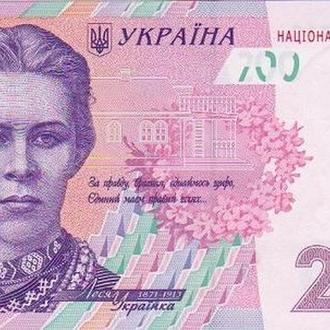 Украина 200 грн 2014 Кубив UNC