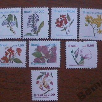 Бразилия 1990 MNH Цветы