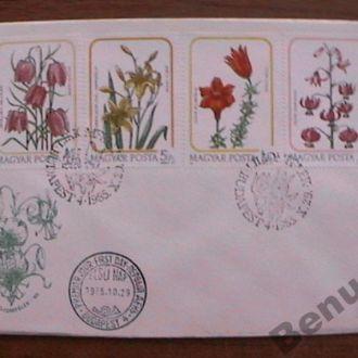 Венгрия 1985 КПД Цветы (комплект)