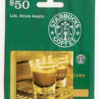 Подарочная карточка пластиковая. Gift Card, USA