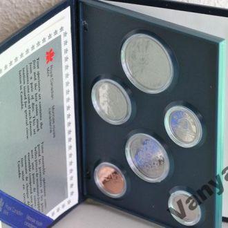 Годовой набор монет Канада (1987 год) (Пруф)