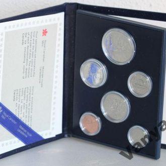 Годовой набор монет Канада (1984 год) (Пруф)