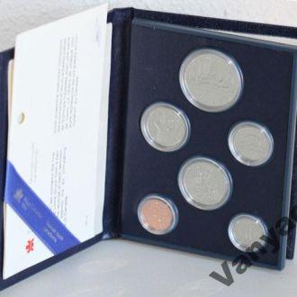 Годовой набор монет Канада (1981 год) (Пруф)