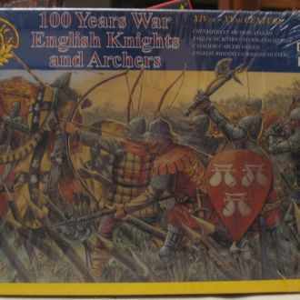 1/72 ITALERI Английские рыцари и пехотинцы