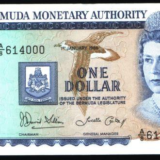 Бермуды / Bermudа  1 Dollar 1986 г UNC