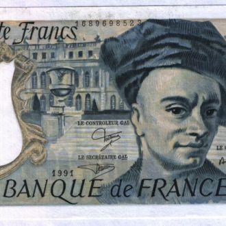 Франция / France 50 Francs 1991 г UNC