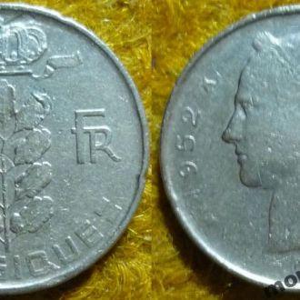 Бельгия 1  франк 1952