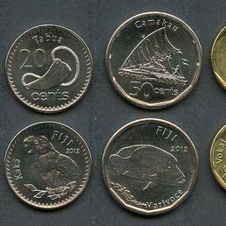 Fiji / Фиджи - набор 6 coins 2012 - UNC - OLM-OPeN