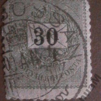 Венгрия 1898/99 гаш. стандарт 30kr
