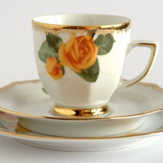 Чашка блюдце тарелка Winterling G фарфор Germany