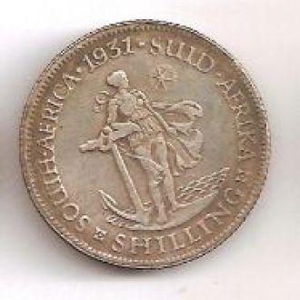 1 Шиллинг 1931 Южная Африка