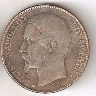 5 Франков 1852 Франция