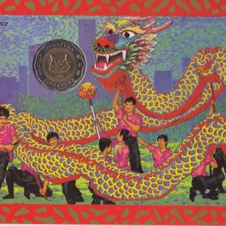 Сингапур mint 1 5 10 20 50 Ct 1 5 Dollars 1995 UNC