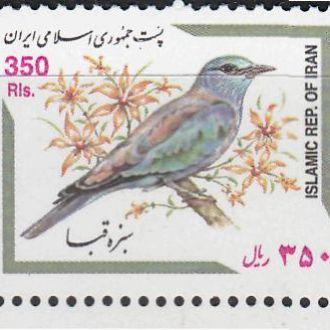 Иран 2001 ПТИЦЫ ФАУНА 1м** Mi.2852 = EUR 1.90