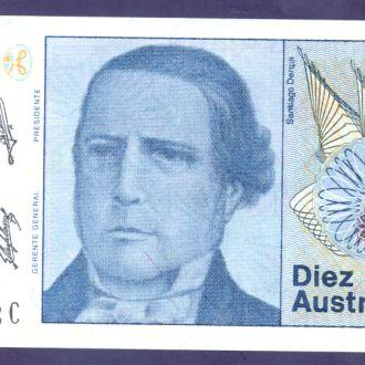 Боны Америка Аргентина 10 австрал 1985 г.