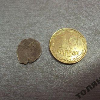 монета чешуйка чешуя серебро №1103