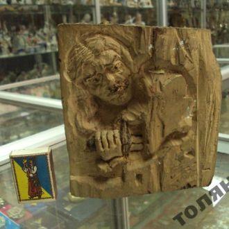 скульптура гуцул олекса довбуш дерево