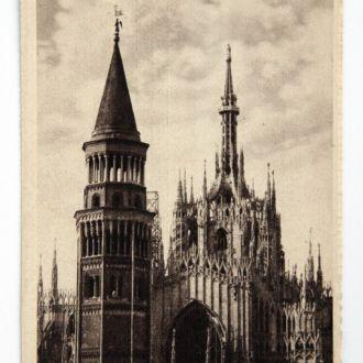Открытка Милан Campanile delle Ore 1930-е Италия